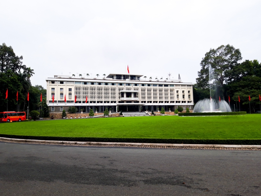 Vietnam, Ho Chi Minh City, Reunification Palace, Asia, Travel