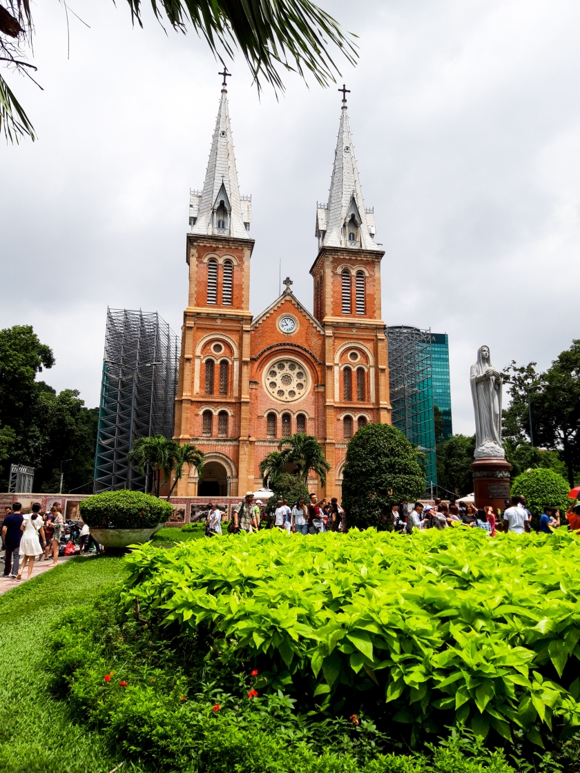 Vietnam, Ho Chi Minh, Notre Dame Cathedral, Tour