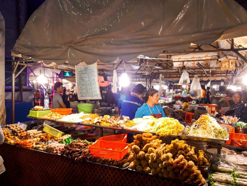 Cambodia, Phnom Penh, Siem Reap, Phnom Penh Night Market, Cambodia Budget Travel, Indochina, Cambodian Food
