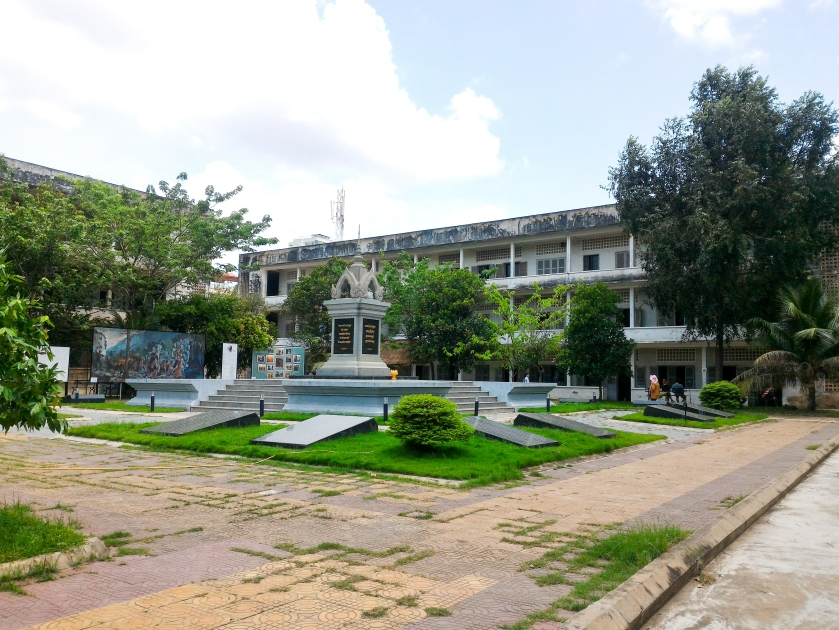 Cambodia, Phnom Penh, Tuol Sleng Genocide Museum, Kampuchea, Cambodia Budget Travel, Khmer Rouge