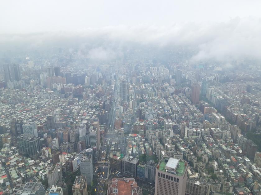 Taiwan, Taipei, Asia, Travel, Taipei 101, City view