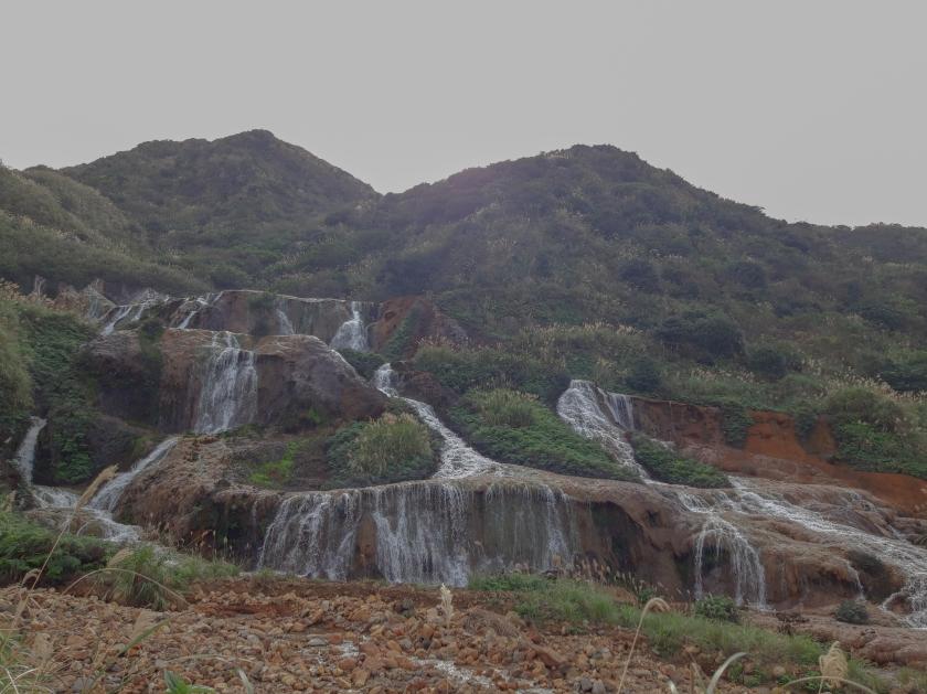 Taiwan, Asia, New Taipei, Golden Waterfall
