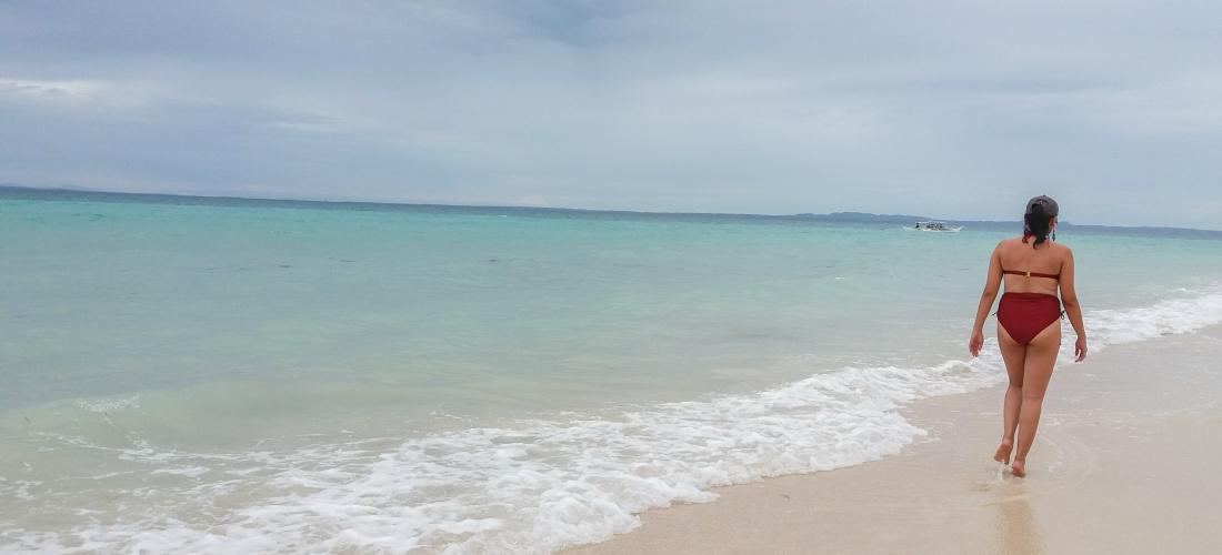 Beach, Bantayan, bikini, summer